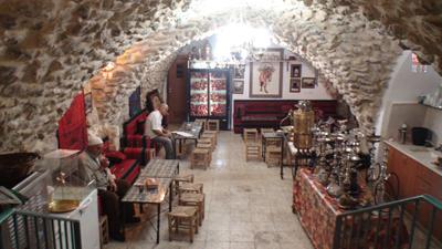 Jerusalem - Café no bairro árabe