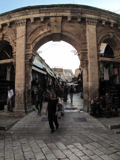 Jerusalem - Rua da Cidade Antiga