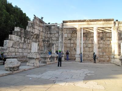 Galileia - Sinagoga de Cafarnaum