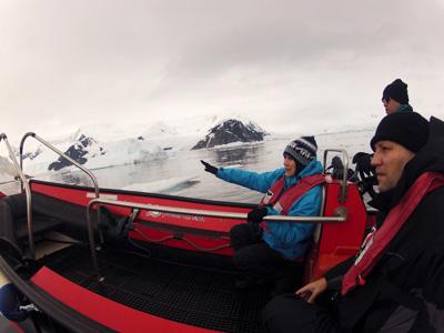 Antartida - Desembarque
