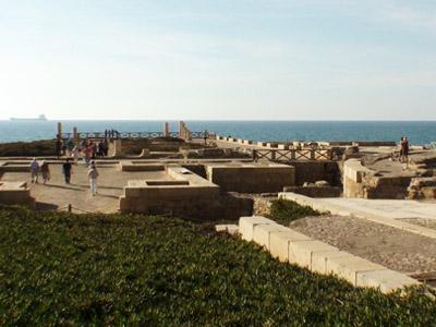 Israel-ruinas do palacio de Herodes