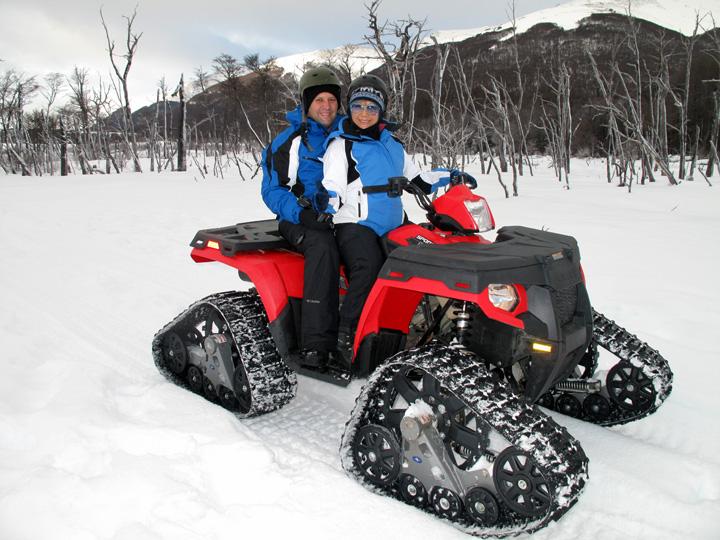 Ushuaia - Quadriciclos para neve